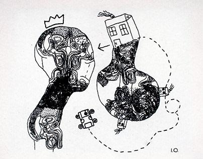 kralj i njegova žena/ the king and his wife