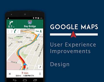UIUX : Google maps improvement