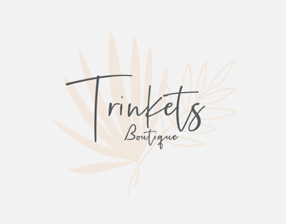 Trinkets boutique logo