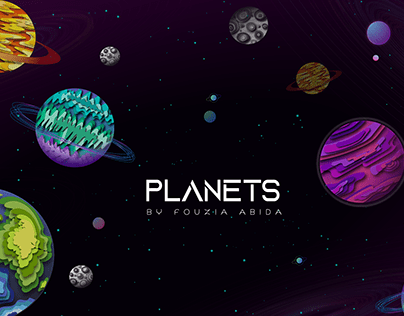 Planet Illustrations