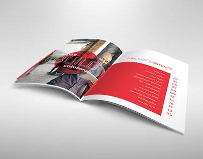 Annual Report Design - Global Teachers Institute