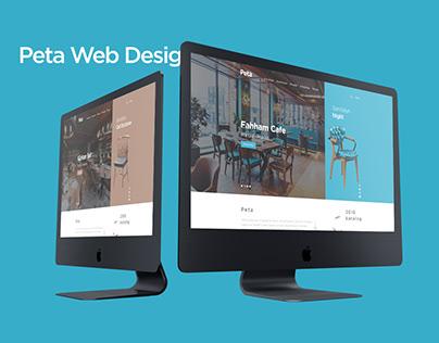 Peta Web Site Design