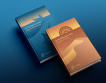 Sea and sand - Book covers