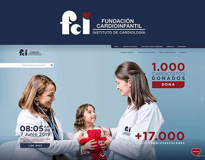 Fundación Cardioinfantil - Website