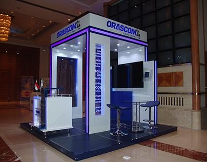 Orascom Construction , Exhibition , booth , 2016