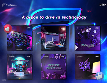 Social Media Design - ITEK CO