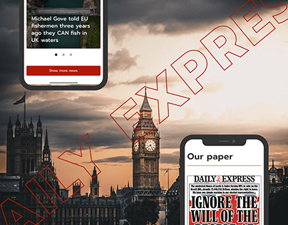Daily Express UK - Redesign Concept 2020