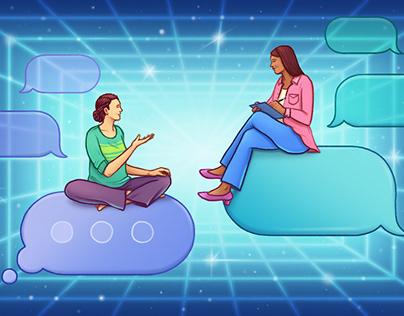 Stella Magazine/Online Therapy