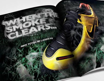 Nike Total 90 Laser FG Advertisement