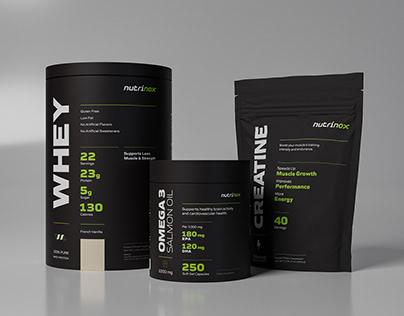 Nutrinox Product Line Packaging