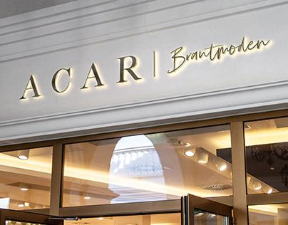Acar Brautmoden / Brand Design