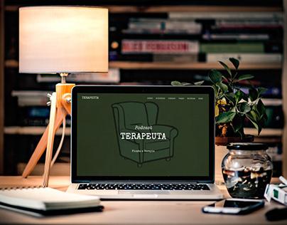 Desenvolvimento de Site - Podcast Terapeuta