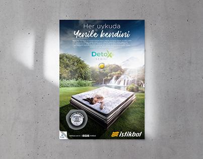 İstikbal - Detox Serisi Yatak Lansman