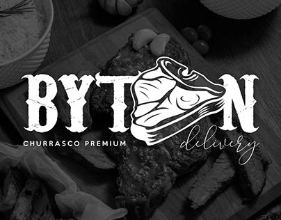 Byton Churrascaria Delivery - Identidade Visual Brand
