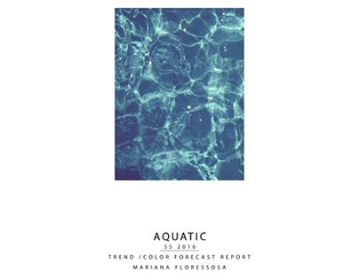 AQUATIC - Publication Design