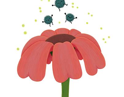 Blooming - #bloomingthroughart