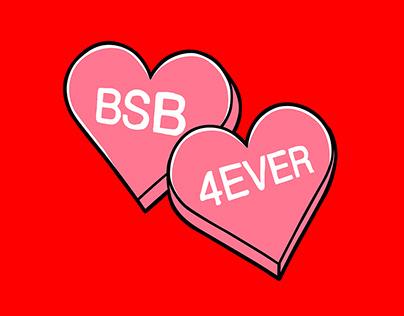 Backstreet Boys - 2020 Valentine's Merch Line