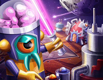Galaxy Dwellers 2016 Mobile Game