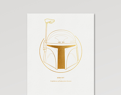Star Wars Illustrative Print Series