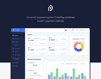 CRM for Payment System CrossPay