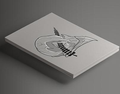 Cráneo Cuervo - Illustration