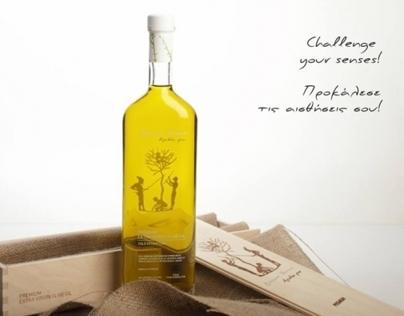 Bonum Terrae Olive Oil Packaging design