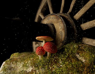 VR Mushroom Biome
