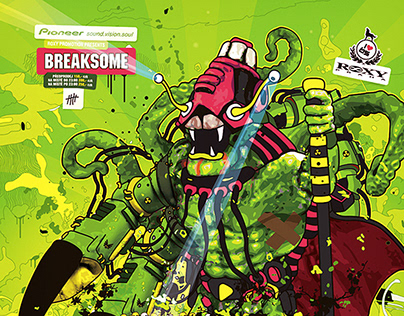 Breaksome posters 2004-2008