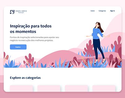 Inspiration | Landing page