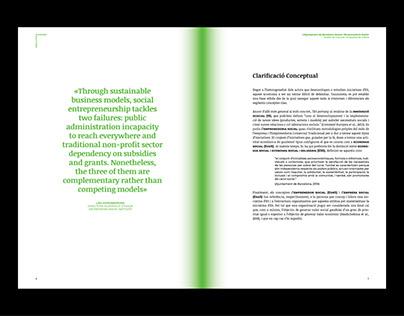 L'AJUNTAMENT DE BARCELONA DAVANT L'EMPRENEDORIA SOCIAL
