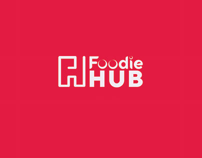 Foodie HUB Logo Design