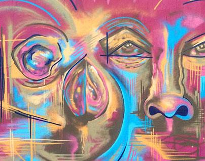 MURAIS/PAINEIS GRAFF