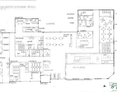 University Settlement Floor Plan Design