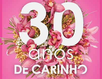 Flower Shop 30 Anniversary Campaign