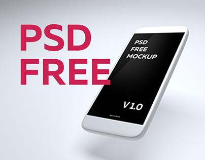 Free PSD mockup V 1.0