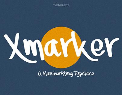 Xmarker - Handwritting free font