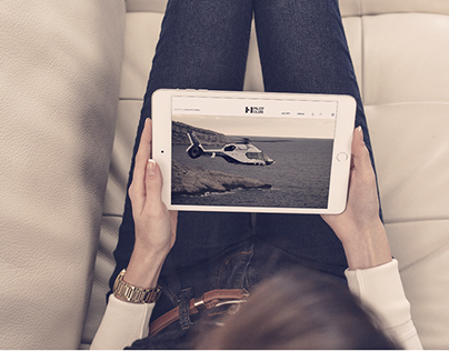 Web Design - Airbus Helicopters - HPilotClub