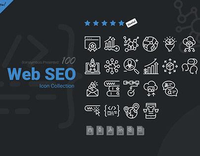 Web SEO icon collection