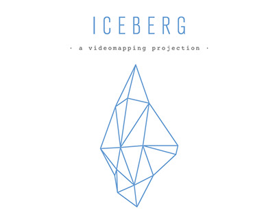 Iceberg - A videomapping projection