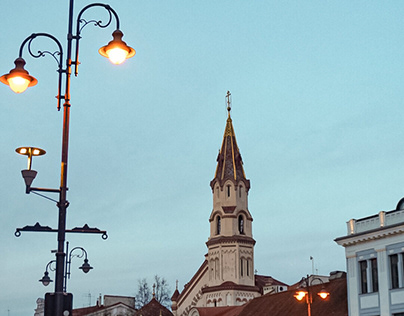 Photography at Vilnius, Lithuania