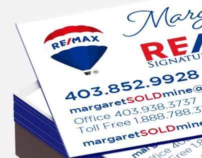 Margaret Salik | RE/MAX Specialty Business Card