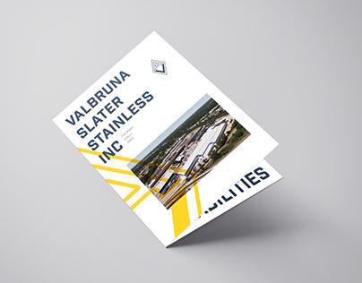Valbruna Slater Stainless, Inc. Brochure Update