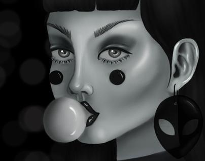 Club Kid Illustration