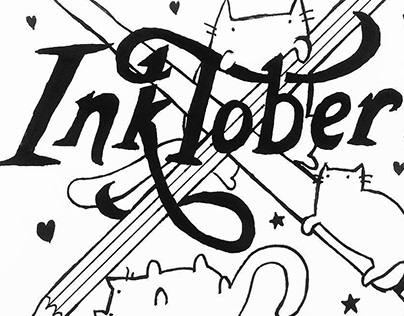 Best of Inktober 2015-2019