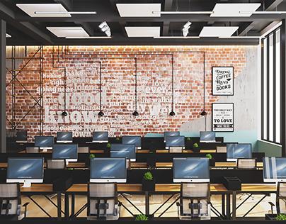Office interior design in Lviv