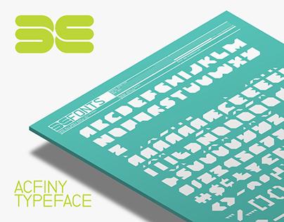 Typeface: ACFiny