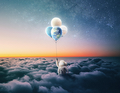 Day 7 : Astronaut - Escape the World