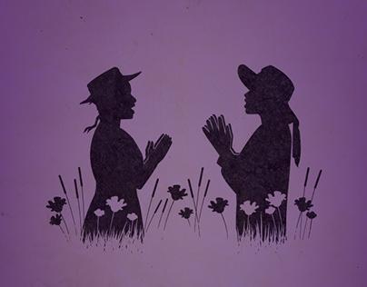 Color Purple Fan Art
