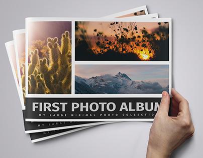 First Photo Album