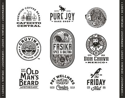 Vintage logos & logomarks